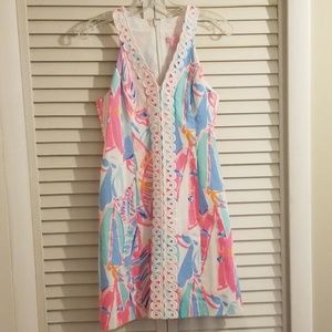 Lilly Pulitzer Lynn Shift Dress Out to Sea